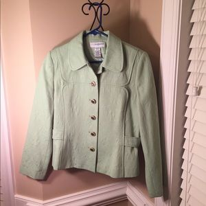 Sag Harbor Mint Green Blazer